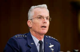 Joints Chiefs of Staff Vice Chairman Gen. Paul Selva testifies before the Senate Armed Services Committee in Washington, Dec. 9, 2015.