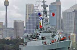 Australia, China Conduct Live-Fire Naval Exercise in Yellow Sea