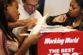 US Jobless Rate Falls to Two-Year Low
