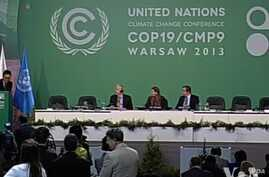 The group hopes to lay the groundwork for a 2015 climate agreement.