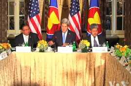 Kerry Urges ASEAN, China to Resolve South China Sea Dispute Without Force