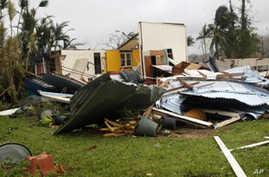 Australian Town of Tully Survives Category 5 Cyclone