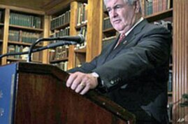 Gingrich Surging in Presidential Race