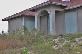 Boarded up home in Florida