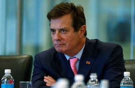 Paul Manafort attends a round table discussion on security at Trump Tower in New York,  Aug. 17, 2016.