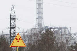 A general view of the sarcophagus covering the damaged fourth reactor at the Chernobyl nuclear power plant February 24, 2011. Belarus, Ukraine and Russia will mark the 25th anniversary of the nuclear reactor explosion in Chernobyl, the place where th