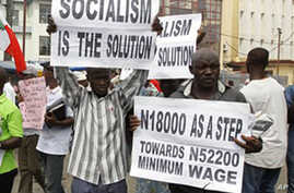 Nigerian Presidential Candidates Campaign on Economy