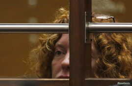 """Tonya Couch, mother of the Texas teenager derided for his """"affluenza"""" defense in a deadly drunken-driving case, appears in court for her extradition hearing in Los Angeles, California, Jan. 5, 2016."""