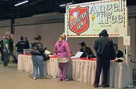 The Salvation Army charity provides gifts for free through its Angel Tree program.