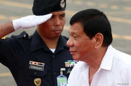 "Philippine President Rodrigo Duterte has criticized the Obama administration and taken steps to align more with China. Duterte announced in October that he wants U.S. troops out of the Philippines, ""maybe in the next two years."""
