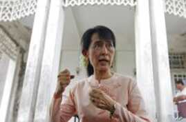Burma Says Government to Meet With Aung San Suu Kyi Monday