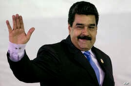Venezuela's President Nicolas Maduro arrives at a press conference after the 17th Non-Aligned Movement Summit in Porlamar, on Margarita Island, Venezuela, Sept 18, 2016. Venezuela rejected a call for a national dialogue.