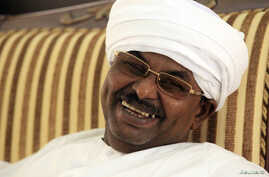 Salah Gosh, former chief of Sudan's National Intelligence and Security Services is interviewed in Khartoum, July 10, 2013.