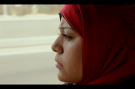 "Hend Nafea is seen in a screen grab from the ""Trials of Spring"" documentary."