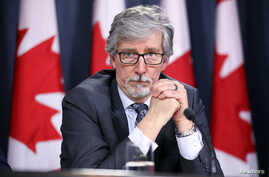 Canada's Privacy Commissioner Daniel Therrien takes part in a news conference in Ottawa, Ontario, Canada, April 25, 2019.