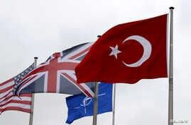 turkey nato flag uk us