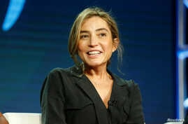 """Director Reed Morano from """"The Power"""" participates in Amazon Studio's """"Visionary Voices"""" panel during the Television Critics Association (TCA) Winter Press Tour in Pasadena, California, U.S., February 13, 2019."""