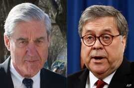 "Special counsel Robert Mueller, left, complained in a letter to Attorney General William Barr that his four-page summary of Mueller's Russia report ""did not fully capture the context, nature and substance"" of the investigation's conclusions, The Wash..."
