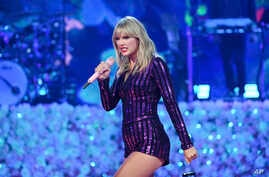 Singer Taylor Swift performs at Amazon Music's Prime Day concert at the Hammerstein Ballroom, July 10, 2019, in New York.