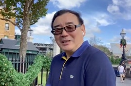 Writer Yang Hengjun is seen at an unidentified location in this still image from an undated video obtained via social media. (Twitter @yanghengjun)