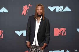 Fetty Wap arrives at the MTV Video Music Awards at the Prudential Center on Monday, Aug. 26, 2019, in Newark, N.J.