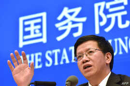 Wu Yanhua, vice administrator of the China National Space Administration and deputy chief commander of the China Lunar…