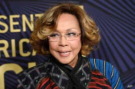 Diahann Carroll poses at the 2017 ABFF Awards: A Celebration of Hollywood at the Beverly Hilton on Friday, Feb. 17, 2017, in…