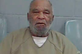 This undated file photo provided by the Ector County Texas Sheriff's Office shows Samuel Little. The FBI says Little, who has confessed to some 90 killings nationwide, offered his confessions as a bargaining chip to be moved from a California prison.