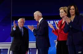 Democratic presidential primary debate hosted by ABC on the campus of Texas Southern University,  Sept. 12, 2019, in Houston.