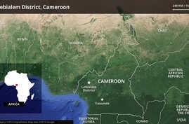 Lebialem district in Cameroon