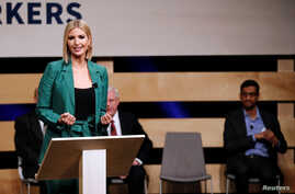 White House adviser Ivanka Trump speaks during signing ceremony committing Google to help expand information technology education at El Centro College in Dallas, Texas, Oct. 3, 2019.