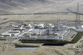 FILE - This photo show an aerial view of a heavy-water production plant in the central Iranian town of Arak, Aug. 26, 2006.