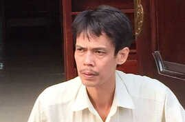 Vietnamese blogger Pham Chi Dung is seen in an undated photo from his Facebook page.