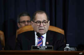 House Judiciary Committee Chairman Rep. Jerrold Nadler, D-N.Y., talks during a hearing before the House Judiciary Committee