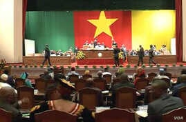 Cameroon's Senate is seen in session in Yaounde, Cameroon, Dec. 20, 2019. (Moki Edwin Kindzeka/VOA)