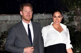 Prince Harry The Duke of Sussex and Duchess Meghan of Sussex intend to step back their duties and responsibilities as senior members of the British Royal Family, Jan. 9, 2020.