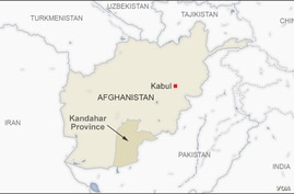 Map of Kandahar Afghanistan