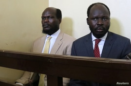 Kerbino Wol, a businessman, and Peter Biar Ajak, the South Sudan country director for the London School of Economics…