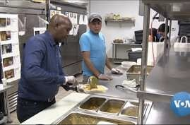 Minneapolis restaurant owner Abdirahman Kahin is keeping his kitchen open to help feed people in need.