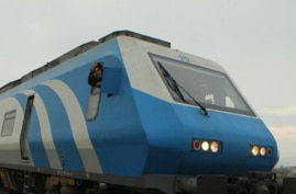 Undated photo of an Iranian train published by state news agency IRNA in a November 2019 article about a Tehran-Qom-Isfahan high speed rail project in which China is a partner. (Source: IRNA)