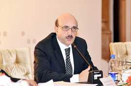 President Masood Khan of Azad (independent) Jammu and Kashmir (AJK), the official name Pakistan uses for the part of the divided region it administers. (Photo courtesy of the president)