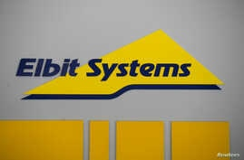 FILE - Logo of Israeli defense electronics firm Elbit Systems is seen at their offices in Haifa, Feb. 26, 2017.  REUTERS/Baz Ratner/File Photo