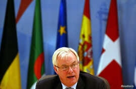 CHRISTOPHER PATTEN EUROPEAN COMMISSIONER FOR EXTERNAL RELATIONS