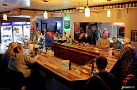 Club Ritz re-opens to patrons following the Wisconsin Supreme Court's decision to strike down Governor Tony Evers' safer-at…