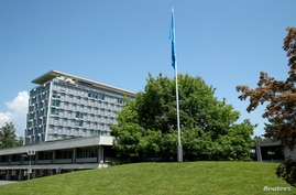 A general view shows the headquarters of the World Health Organization (WHO) in Geneva, Switzerland, June 25, 2020. REUTERS…