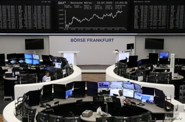 The German share price index DAX graph is pictured at the stock exchange in Frankfurt, Germany, July 10, 2020. REUTERS/Staff
