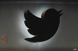 Photo by: John Nacion/STAR MAX/IPx 2020 5/13/20 A view of Twitter logo as seen in from its Chelsea office during the…