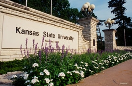 FILE - Kansas State University in Manhattan, Kansas.