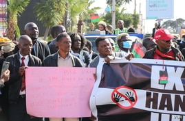 Recent spate of protests in Malawi have also been blamed for a surge in coronvirus cases