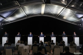 France's President Emmanuel Macron speaks during the closing news conference of the seventh MED7 Mediterranean countries summit…